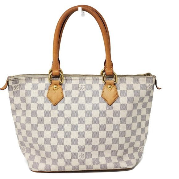 Louis Vuitton Handbags - Auth Louis Vuitton Saleya PM Damier Azur Tote